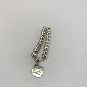 Tiffany and Co. heart tag bead bracelet!!!